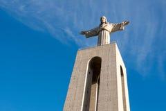 Standbeeld van Cristo Rei, Portugal stock afbeelding