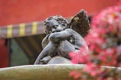 Standbeeld van cupido Royalty-vrije Stock Foto's