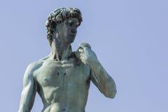 Standbeeld van David stock afbeelding