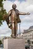 Standbeeld van David lloyd george Stock Afbeeldingen