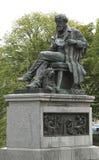 Standbeeld van de fysicus James Clerk Maxwell Edinburgh Scotland royalty-vrije stock foto