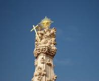 Standbeeld van de Heilige Drievuldigheid in Boedapest Royalty-vrije Stock Afbeelding