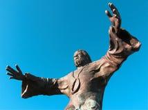Standbeeld van de Jesus-Christus Royalty-vrije Stock Fotografie
