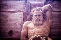 Standbeeld van de mythologie het Griekse God royalty-vrije stock afbeeldingen