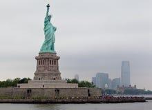 Standbeeld van de Stad van New York van de Vrijheid Royalty-vrije Stock Fotografie