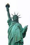 Standbeeld van de stad van vrijheidsNew York Stock Foto's