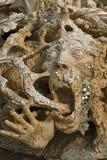 Standbeeld van duivels in hel Royalty-vrije Stock Foto's