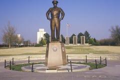 Standbeeld van Dwight D. Eisenhower Royalty-vrije Stock Afbeeldingen