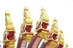 Standbeeld van een draak Royalty-vrije Stock Foto's