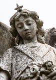 Standbeeld van een engel Stock Afbeeldingen
