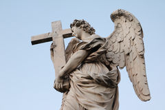 Standbeeld van een engel Royalty-vrije Stock Afbeeldingen