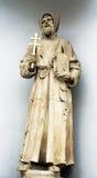 Standbeeld van een heilige Stock Afbeelding