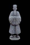 Standbeeld van een oude edele mens Royalty-vrije Stock Foto's