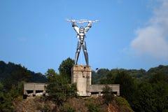 Standbeeld van Elektriciteit Royalty-vrije Stock Afbeelding