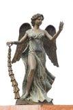 Standbeeld van engel Stock Afbeelding