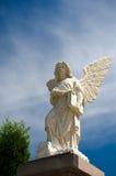 Standbeeld van engel Stock Fotografie