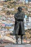Standbeeld van Eugenio de Santa Cruz stock afbeelding