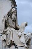 Standbeeld van Ezekiel stock afbeeldingen