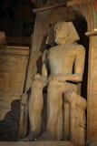 Standbeeld van Farao royalty-vrije stock afbeeldingen