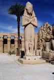 Standbeeld van Farao Ramses II Stock Fotografie