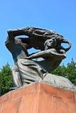 Standbeeld van Frederic Chopin Royalty-vrije Stock Fotografie