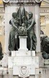 Standbeeld van Garibaldi stock afbeelding