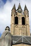 Standbeeld van Geertruyt van Oosten in Delft Royalty-vrije Stock Afbeeldingen