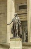 Standbeeld van George Washington Royalty-vrije Stock Foto