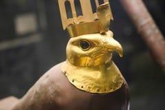 Standbeeld van god van Douch-schat - Egyptisch museum royalty-vrije stock foto's