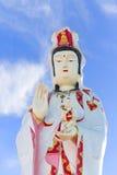 Standbeeld van Godness Guan Yin Stock Afbeeldingen