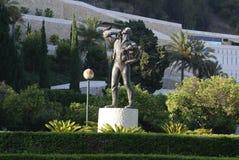Standbeeld van Gr Biznaguero bij het park van Malaga, Spanje, Europa royalty-vrije stock foto