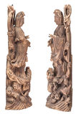 Standbeeld van Guan Yin Stock Afbeelding
