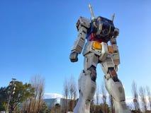 Standbeeld van Gundam bij het Plein van DivercCity Tokyo in Tokyo Stock Afbeelding