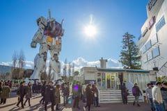 Standbeeld van Gundam bij het Plein van DivercCity Tokyo in Tokyo Royalty-vrije Stock Afbeeldingen