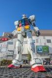 Standbeeld van Gundam bij het Plein van DivercCity Tokyo in Tokyo Royalty-vrije Stock Fotografie