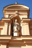 Standbeeld van heilige Stock Afbeelding