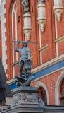 Standbeeld van heilige George Stock Afbeelding