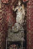Standbeeld van Heilige Lucy Stock Foto's