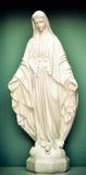 Standbeeld van heilige Mary Stock Afbeeldingen
