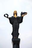 Standbeeld van Heilige Sophia Stock Foto's