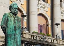 Standbeeld van Henrik Ibsen Stock Foto's