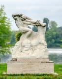 Standbeeld van Hercules Fighting de Centaur royalty-vrije stock foto's