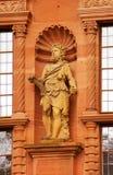 Standbeeld van Hercules van het Kasteel van Heidelberg Royalty-vrije Stock Afbeeldingen