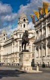 Standbeeld van Hertog van Cambridge, Whitehall Royalty-vrije Stock Foto
