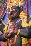 Standbeeld van Hindoese god-Kali Royalty-vrije Stock Foto