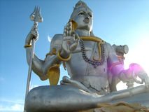 Standbeeld van Hindoese God Shiva Stock Foto