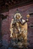 Standbeeld van Hindoese godin Stock Foto's