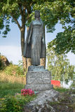 Standbeeld van Infanta Christina, Tonsberg - Noorwegen stock afbeeldingen