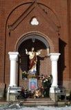 Standbeeld van Jesus Royalty-vrije Stock Afbeeldingen