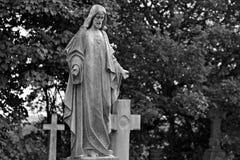 Standbeeld van Jesus Royalty-vrije Stock Foto's